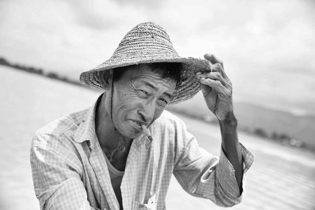 Le salut du pêcheur_Lac Inle_Myanmar